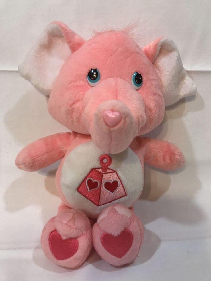 "12""  Care Bear Cousins Lotsa Heart Elephant Plush Stuffed Animal #CareBears"