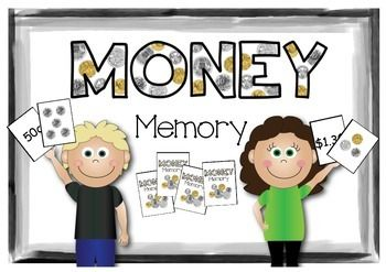 Australian money memory! A memory game with collections of coins (Australian currency)