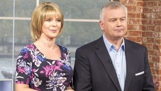 Eamonn Holmes and Ruth Langsford - This Morning - ITV