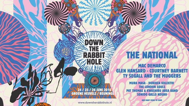 A stunning animation by Merijn Hos for Down the Rabbit Hole, a Dutch music festival that takes place from June 24 to 26, 2016.   Visit http://downtherabbithole.nl for more info.  Client: Mojo/Live Nation Art direction: Merijn Hos Illustration: Merijn Hos Animation: Jurriaan Hos Sound: Wilco Alkema