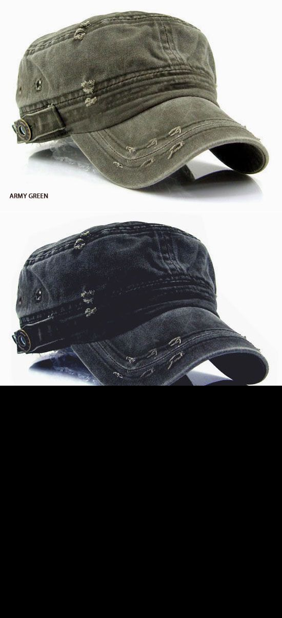 Vintage Washed Military Short Brim Hat-Hat 07 - GUYLOOK http://www.99wtf.net/men/6-things-which-make-women-attracted-to-men/
