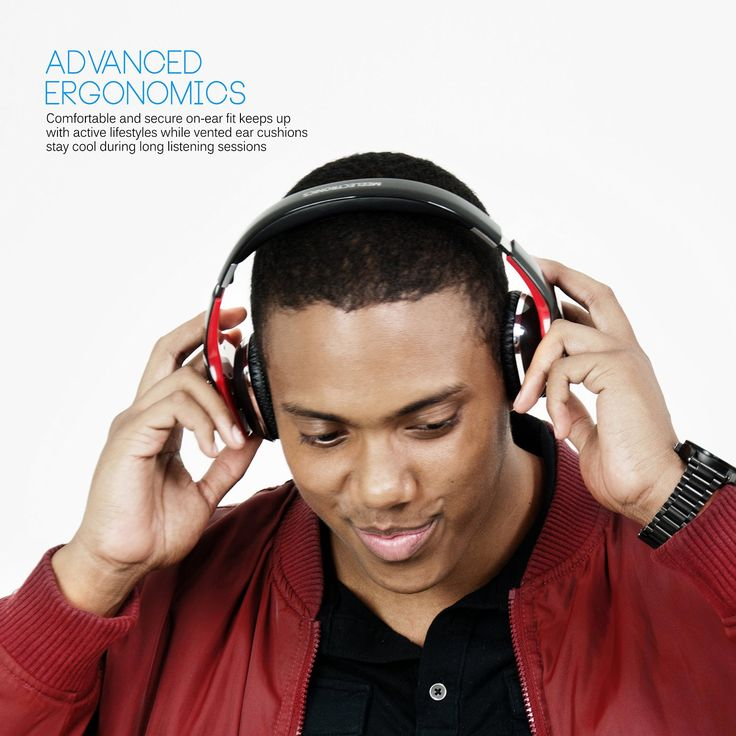 Versatile stereo headphone can be used both wired (audio only) and wirelessly with phones and tablets Full range sound with deep, powerful bass for an exhilar