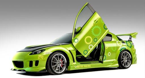 Mazda RX8 paint modification ideas