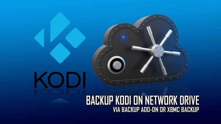 Kodi Backup On Network Drive