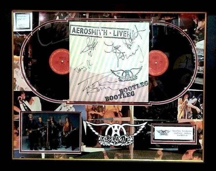 Antiquities LV - Aerosmith Album Signed By 5, $1,695.00 (http://www.antiquitieslv.com/aerosmith-album-signed-by-5/)