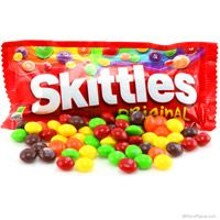 Skittles Candy  http://www.retroplanet.com/PROD/36024