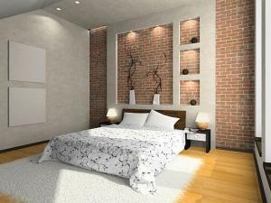 Conceptions des murs en brique pour chambre à coucher ! • Hellocoton.fr