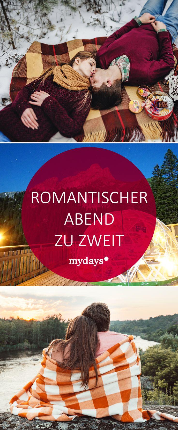 Romantischer Abend zu zweit - Tipps für Verliebte | mydays