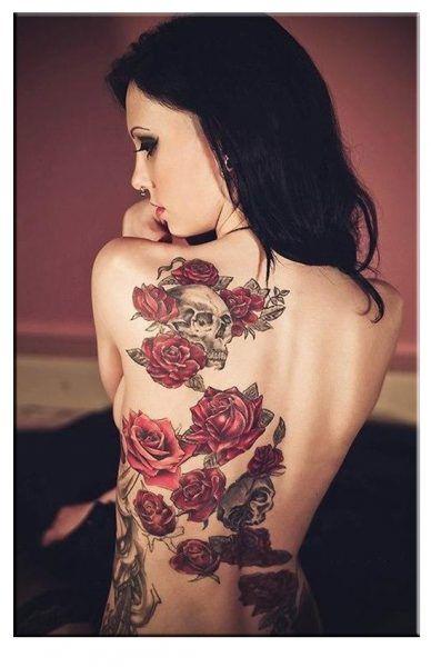 tatuajes grandes para mujeres en el hombro