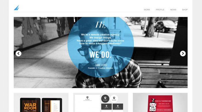 creative agency site
