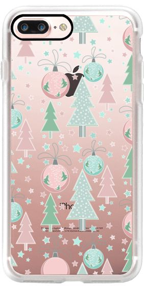Casetify iPhone 7 Plus Case and other  Christmas iPhone Covers - Christmas Tree and Toys by Julia Badeeva | Casetify