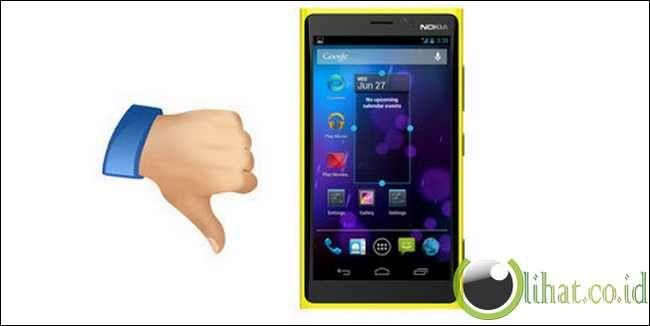 5 Penyebab Nokia tidak Menggunakan OS Android