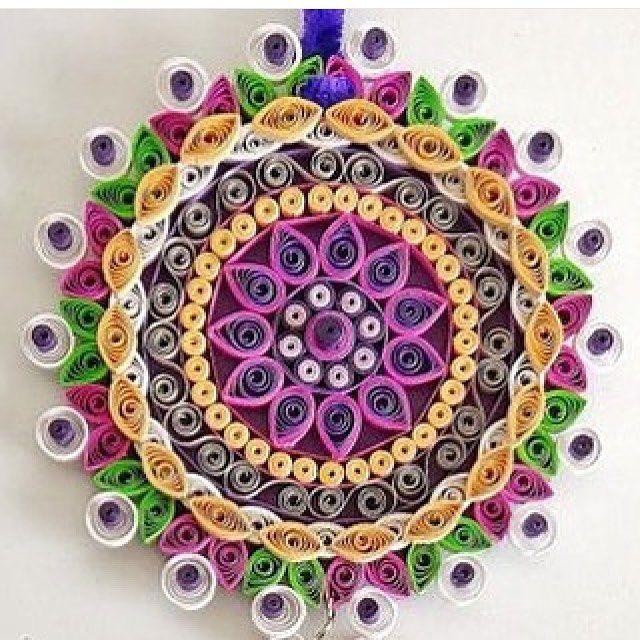 #mulpix Splendida creazione con la #quilling art!!! Realizzata da @samra_art ❤️❤️❤️ #handmade #fattoamano #tutorial #fimo #crochet #mamme #sewing #sew #riciclo #riciclocreativo #creatività #craft #crafter #artigianato #diy #passoapasso #paper #mammecreative #creativemamy #recycle #knit #felt #pannolenci #denim #jeans #artesanato #sew #quilling