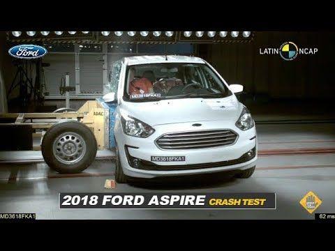 Ford Aspire Sedan Ka Crash Test Video Gets  Stars Aspire Crash Ford Ka Sedan Stars