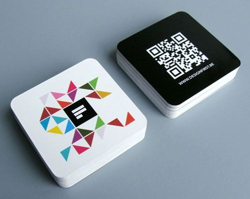 90 best 90 original square business cards to fuel your creativity
