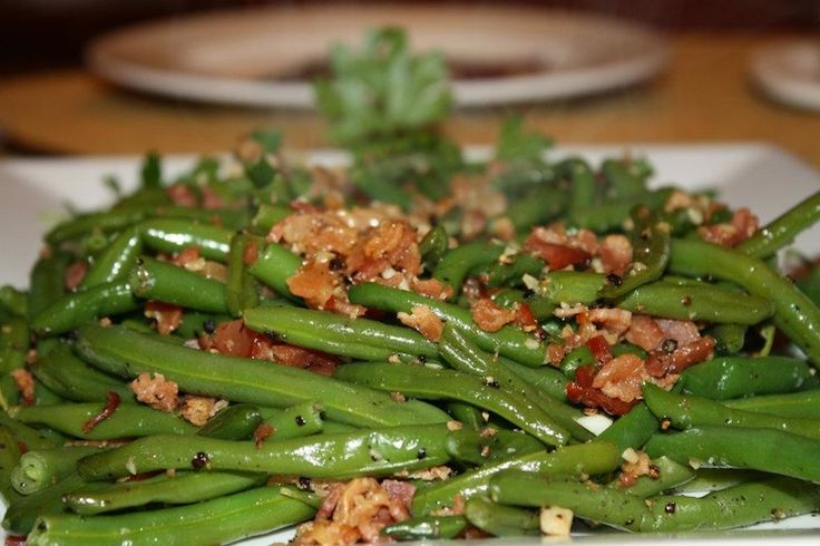 how to prepare frozen french cut green beans