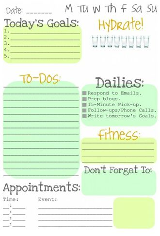 workout schedule-Id love to have something close to this...anyone know where I can get this??