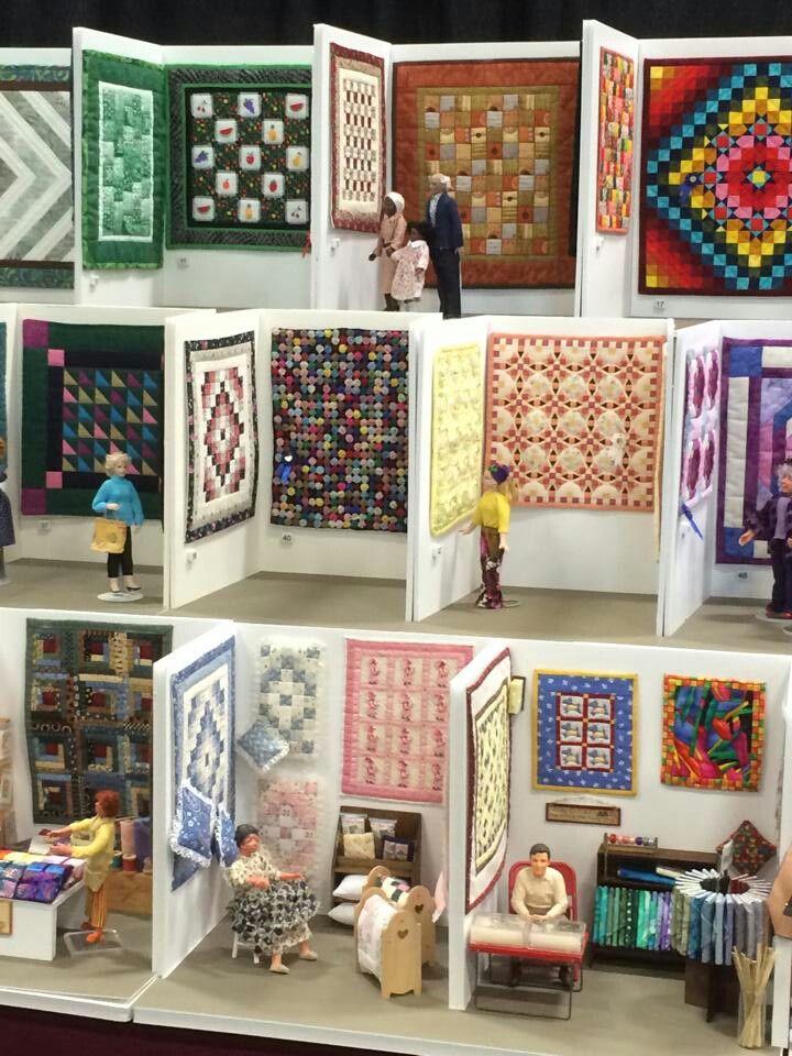 Miniature Quilt Show!                                                                                                                                                                                 More