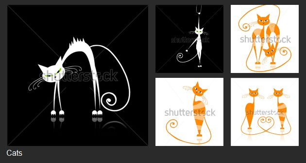 See more cats in my Shutterstock gallery >>
