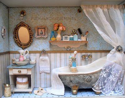 Patricia Cruzat Artesania y Color: baños