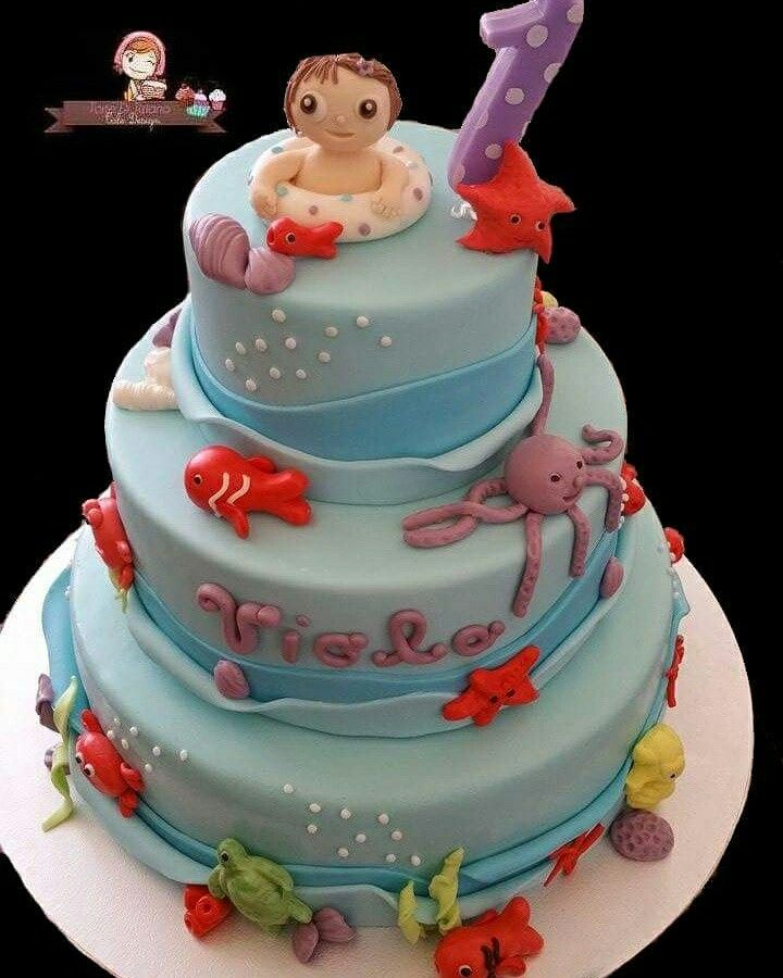 Cake baby summer