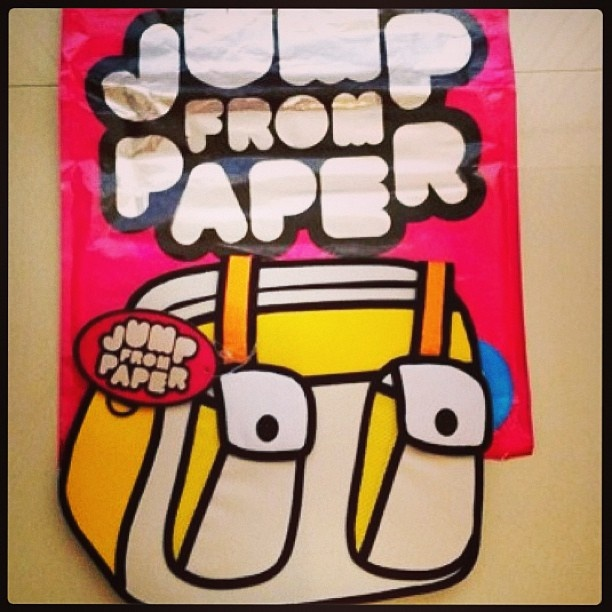 Jumpfrompaper - original bag  #handbags #jumpfrompaper
