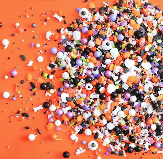 Halloween Cheer Mix 2020 Bulk Sprinklefetti Sprinkle Mix: Halloween in 2020 | Halloween