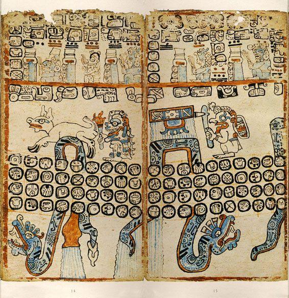 El Códice de Madrid habla sobre horóscopos y tablas astrológicas y es el producto de ocho diferentes escribas. Se encuentra en el Museo de América en Madrid, España.