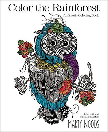 Color The Rainforest An Exotic Coloring Book