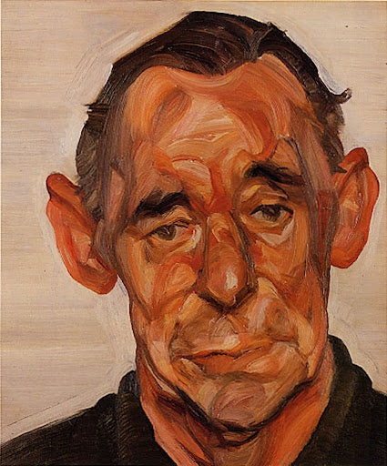 Lucian Freud - Portrait of John Deakin, 1963-64