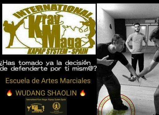 ¿Has tomado ya la decisión de defenderte por ti mismo / a?   Internacional KRAV MAGA kapap system Spain   Escuela de Artes Marciales   WUDANG SHAOLIN   #kravmaga #kapap #defensapersonal