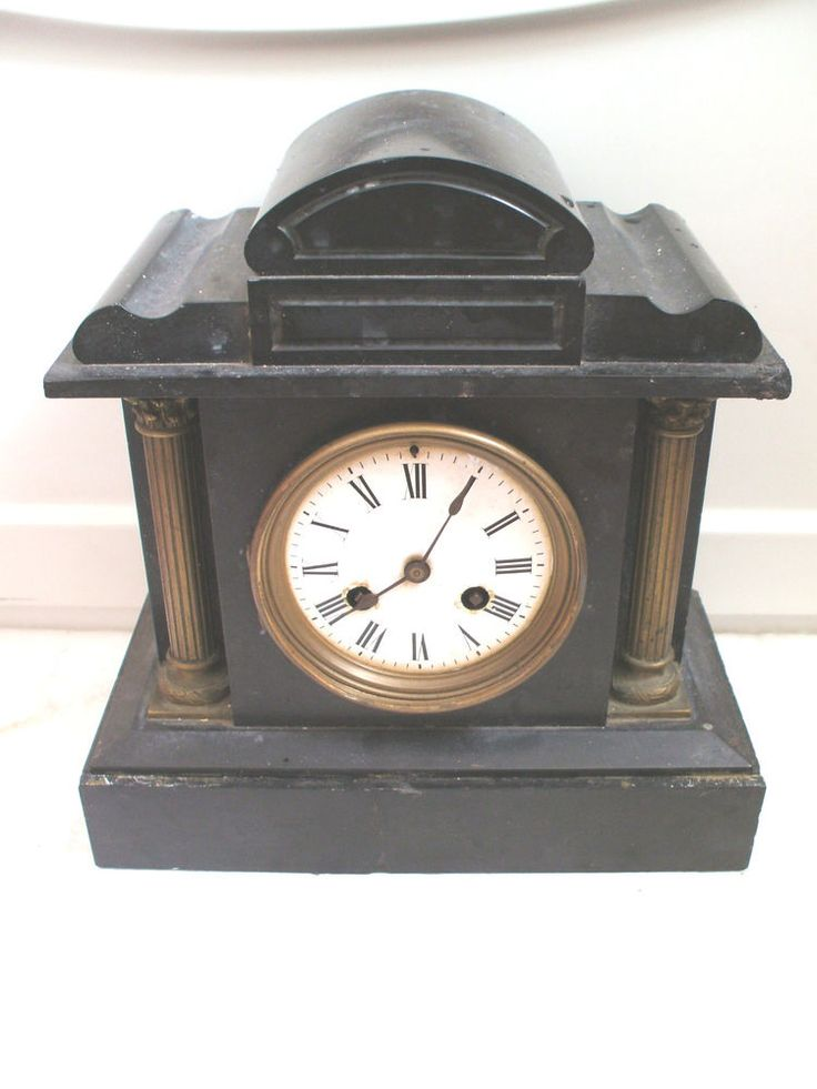 Marble Mantle Clock Case Amp French Striking Movement For