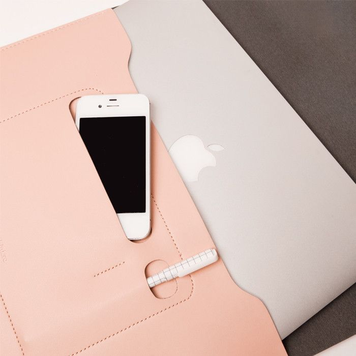 Minimalist Folio Blush - Large $48 Arrive in style to your next ...