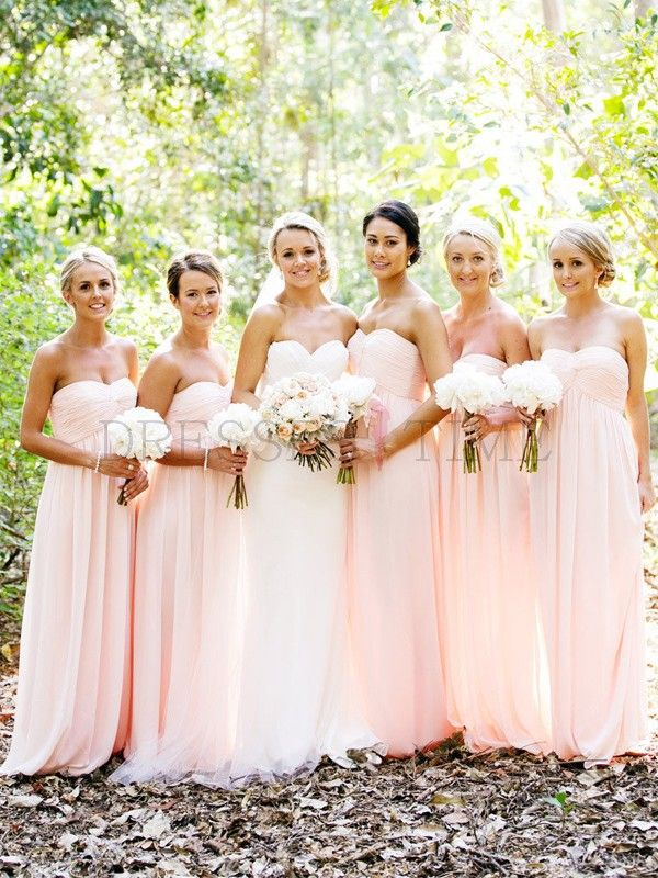 Bridesmaid Dresses (@Sarah Chintomby Chintomby Stewart & @Melissa Squires Spivak Klindtworth ) I love the color & style- since my dress has sleeves I think you two in sleeveless would be pretty...