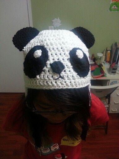 Free Crochet Pattern Panda Bear Hat : 1000+ images about Crochet - Panda Bear Patterns on Pinterest