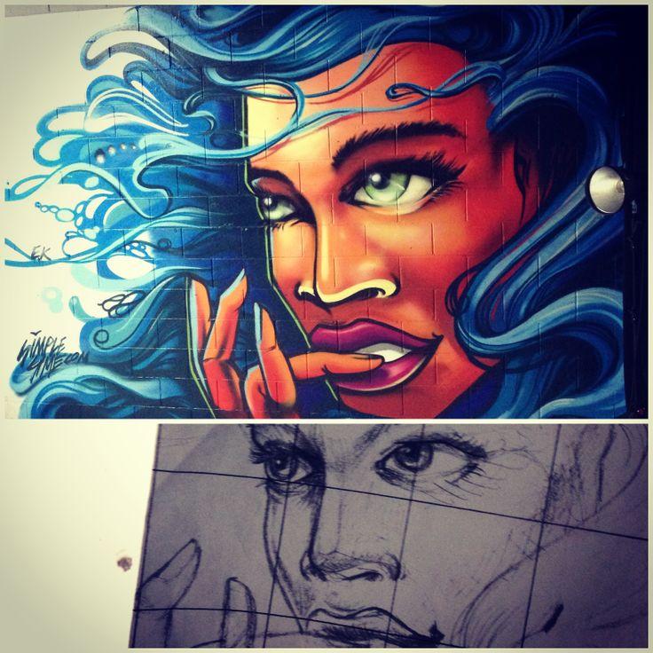 Left over paint - Sun Studios, Cremorne Dec 2013 - Simplesime #simplesime