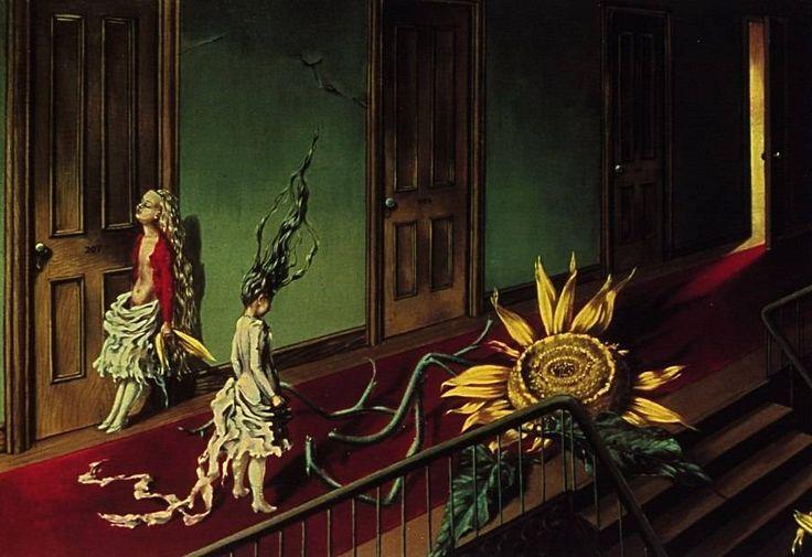 Dorothea Tanning, Eine Kleine Nachtmusik, 1946. One of the overlooked female surrealist painters...