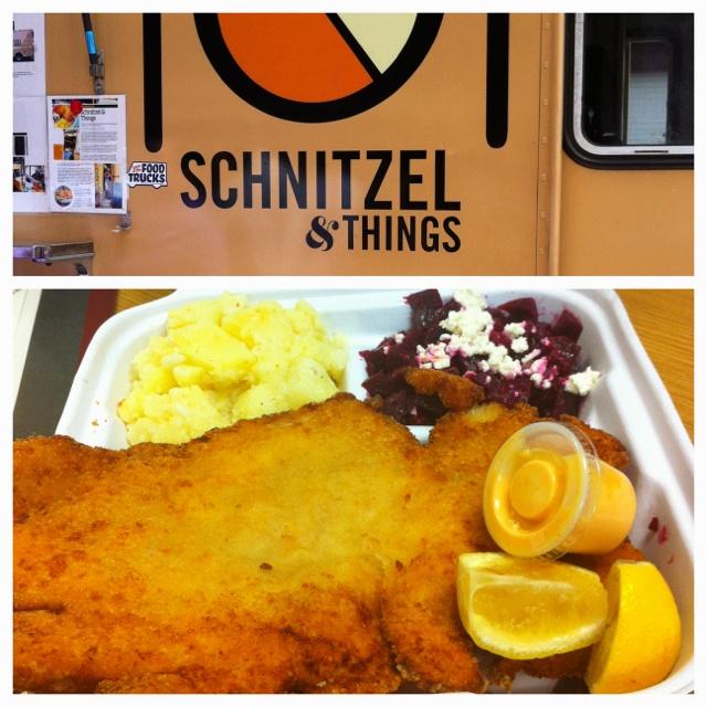 Chicken Schnitzel From Schnitzel Things Food Truck Nyc Ar2