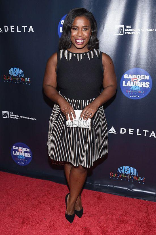 Uzo Aduba at the 2017 Garden of Laughs Comedy Benefit