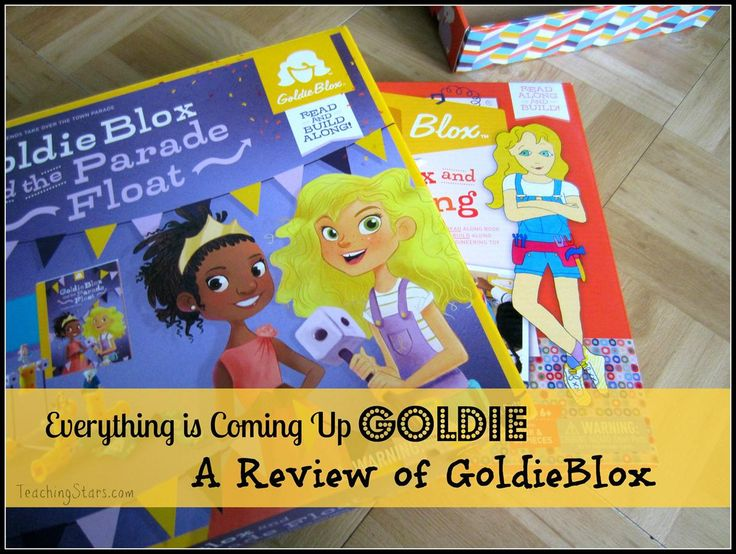 REVIEW – GoldieBlox, Building Games for Girls |