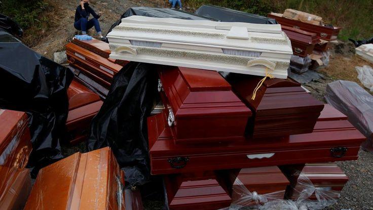 (67) Tw  A la Une: En Colombie, les habitants de Mocoa enterrent les leurs http://itter