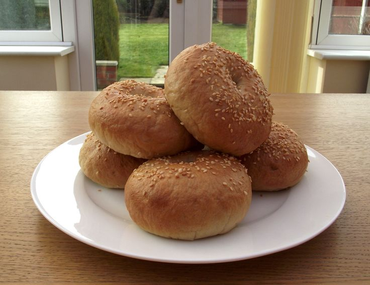 Make your own home made Sesame Seed Bagels!