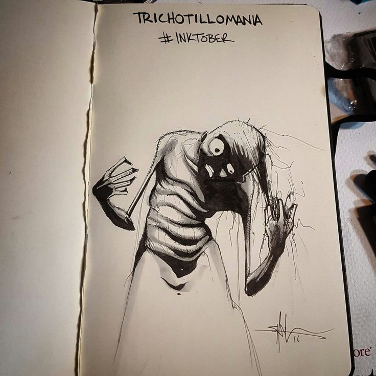Amazing inktober by Shawn Coss