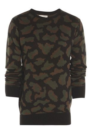 Mens Camouflage Jumper £33.00 http://www.bravesoul.co.uk/shop/clothing/mens-camouflage-jumper?colour=BLACK%2FGREY #camo #jumper #bravesoulcouk