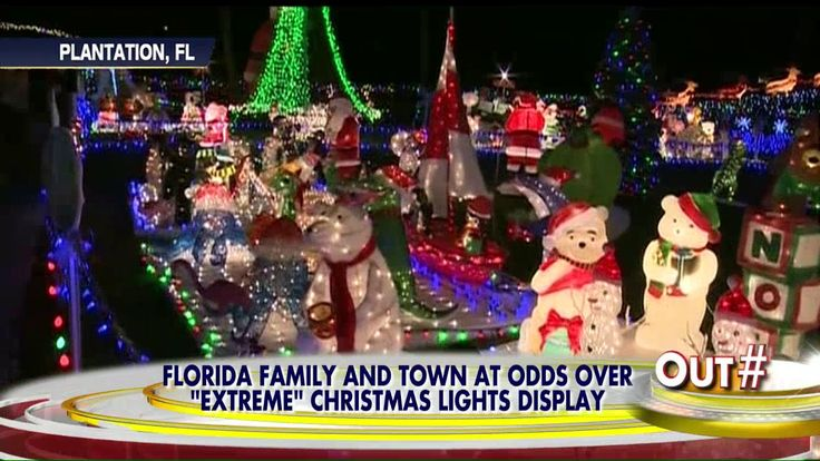 17 Best Images About Florida Christmas Lights On Pinterest
