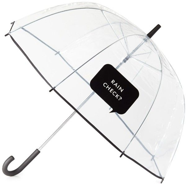 When was the last time you actually wished for rain? You'll be hoping for afternoon showers just so this witty umbrella can get some exposure (and, undoubtedly…