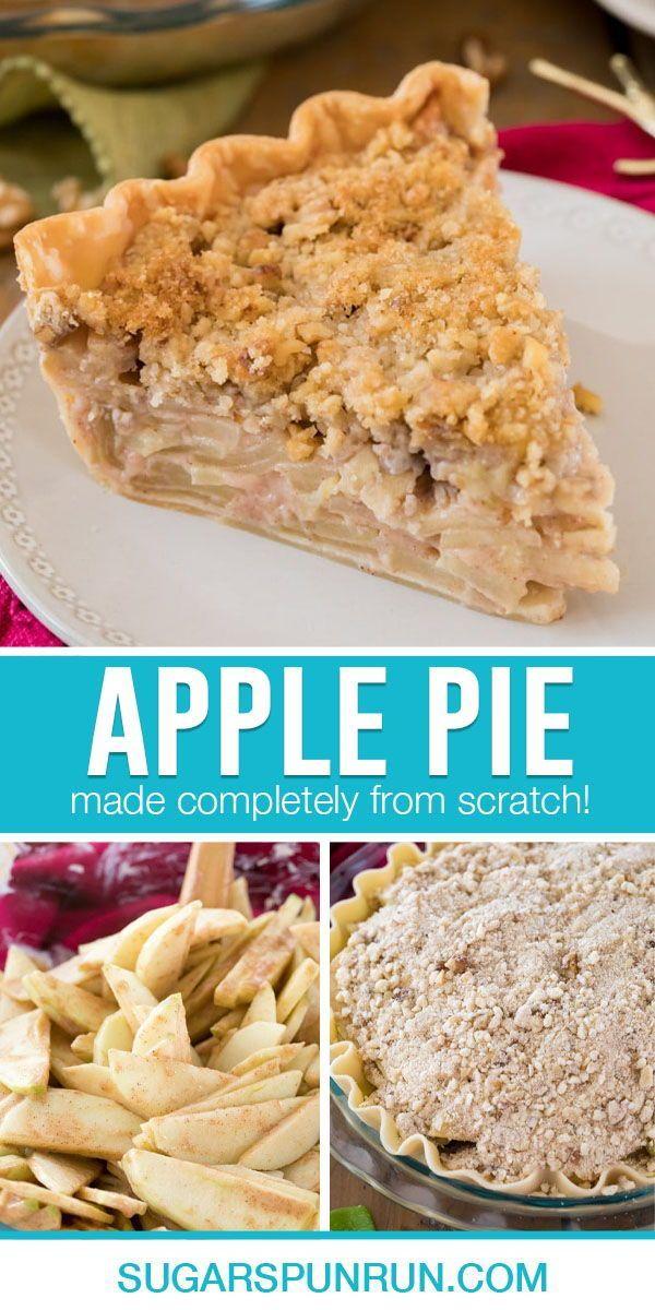 The Best Apple Pie Recipe In 2020 Best Apple Pie Sour Cream Apple Pie Traditional Apple Pie Recipe