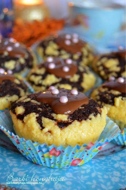 Barbi konyhája: Túrós muffin