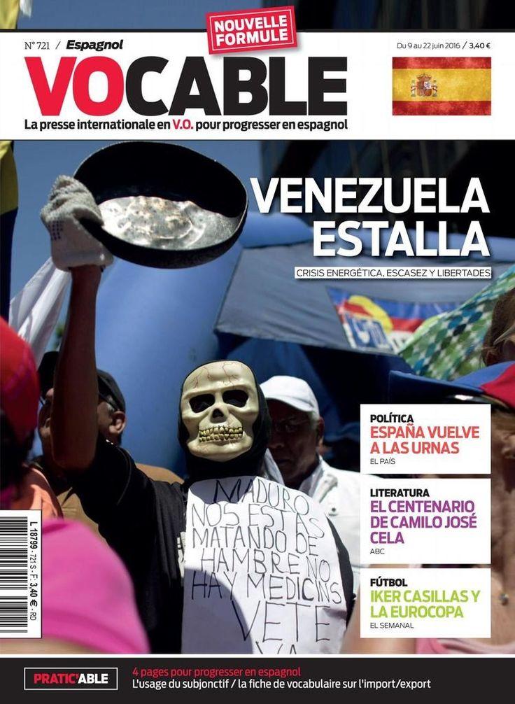 Vocable espagnol N° 721 - 9 juin 2016. Iker Casillas y la eurocopa. España vuelve a las urnas.