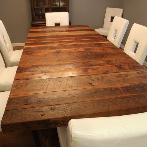 Barnwood Table Tables Pinterest Barn Wood And